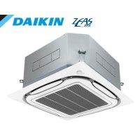 ダイキン ZEAS エコ・ラウンドフロー 標準タイプ 天井カセット4方向 シングル(同時) 6馬力