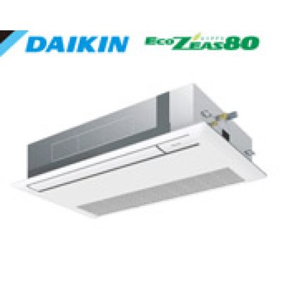 画像1: ダイキン Eco ZEAS 80 シングルフロー  タイプ 天井カセット1方向 シングル(同時) 3馬力
